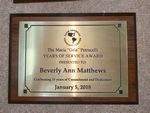 Custom Cherry Finish Plaque w/ Engraved Plate (5