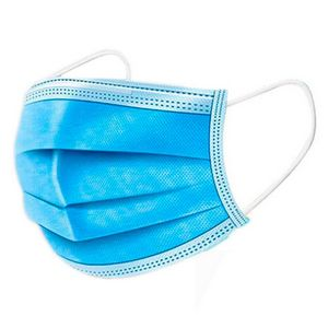 Custom 3 Layer Disposable Face Mask. Fda Approved ! In Stock !