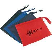 Promotional Document Bag w/ Side Strap