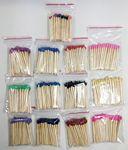 Custom 47mm (approx. 2 in.) Bulk Wooden Match Sticks - 50 ct. bags