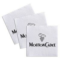 1-Ply Lined Semi-Crepe Luncheon Napkin