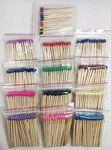 Custom 80mm (approx. 3 in.) Bulk Wooden Match Sticks - 45 ct. bags