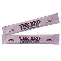 Pink Sweetener Sugar Tubes