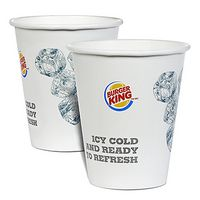 12 Oz. Double Poly Coated Paper Cold Cup - Flexographic Printed