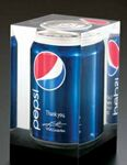 Custom Lucite Pepsi Can Embedment Award