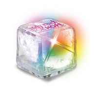 UltraGlow Liquid Activated Ice Cube w/ Color Changing LED