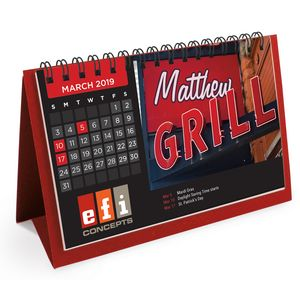 Flip Calendar w/Name Personalization (Short)