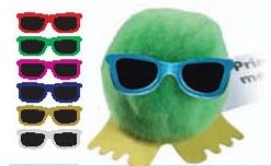 Custom Printed Weepuls Wearing Sunglasses