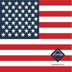American Flag Bandanna