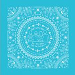 4900 Series Imported Turquoise Bandanna