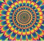 Tie-Dye Blank Psychedelic Bandanna