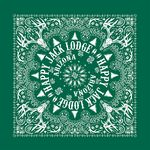 4900 Series Imported Forest Green Bandanna