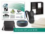 Custom $100 Gift of Choice Emerald Level Gift Card