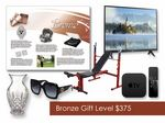 Custom $375 Gift of Choice Bronze Level Gift Booklet