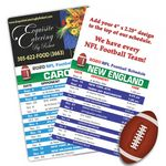 Sports Schedule Magnets (4