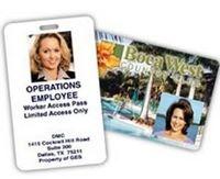"Photo ID & Access Card (2 1/8""x 3 3/8"")"