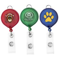 Large Face Badge Reel - Translucent Colors (Chroma Digital Direct Print)