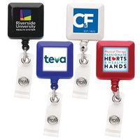 Good Square Retractable Badge Reel (Label Only)