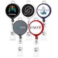 Large Face Badge Reel (Polydome)