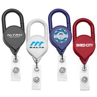 Jumbo Carabiner Retractable Badge Reel (Chroma Digital Direct Print)