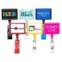 Rectangle Badge Reel (Polydome)