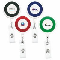Jumbo Color Ring Retractable Reel w/ Alligator Clip (Chroma Digital Direct )