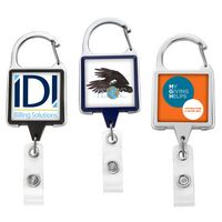 JUMBO Square Carabiner Badge Reel - DOME