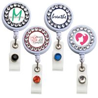 Bling Ring Badge Reel (Polydome)