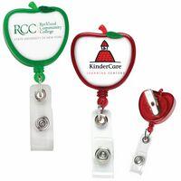 Apple Retractable Badge Reel (Polydome)