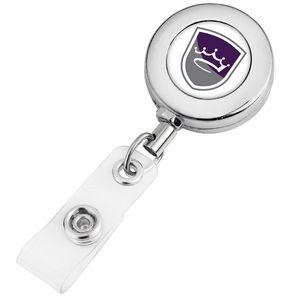 Round Metal Badge Reel (Polydome)