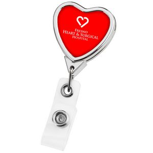 Chrome Heart Retractable Badge Reel (Label Only)