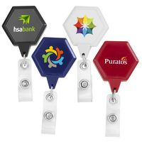 JUMBO Hexagon Badge Reel (CHROMA)