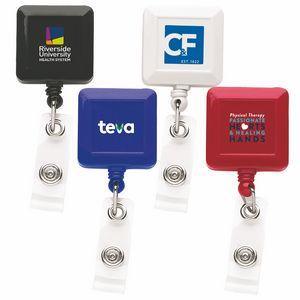 Good Square Retractable Badge Reel (Chroma Digital Direct Print)