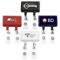 Jumbo Dual Strap Badge Reel (Chroma Digital Direct Print)