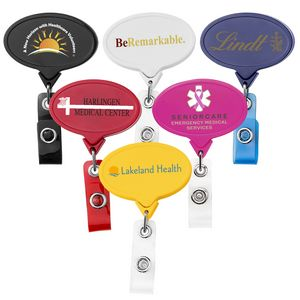 Jumbo Oval Retractable Badge Reel (Chroma Digital Direct Print)