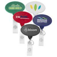Hemp Jumbo Oval Badge Reel (CHROMA)