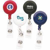 Better Round Retractable Badge Reel (Chroma - Digital Direct Print)