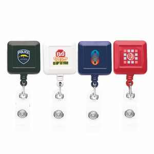 Better Square Retractable Badge Reel (Chroma Digital Direct Print)