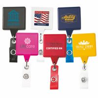 Jumbo Square Retractable Badge Reel (Chroma Digital Direct Print)
