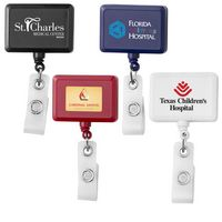 Anti-Microbial Rectangle Badge Reel (Chroma Digital Direct Print)