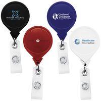 Jumbo Anti-Microbial Round Retractable Badge Reel (Chroma Digital Direct)
