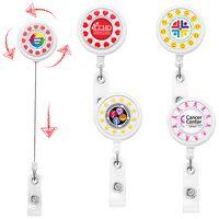 Heart Spinner Badge Reel (Label)