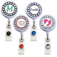Bling Ring Badge Reel (Label)