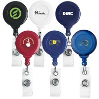 No Twist Round Retractable Badge Reel (Chroma Digital Direct Print)