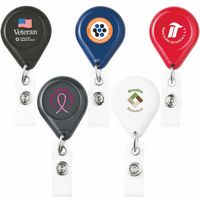 D-Bak Retractable Badge Reel (Chroma Digital Direct Print)