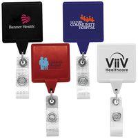Jumbo Anti-Microbial Square Retractable Badge Reel (Chroma Digital Direct )