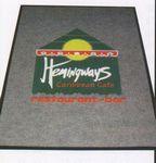 Custom (4'x6') Logo Pin Multi-Color Imprint Custom Design Carpet (2 Color)