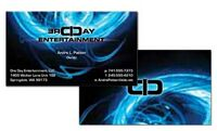 Full Color Business Card - Premium Stock