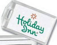 Compact Acrylic Luggage Tag