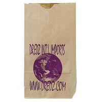 "Natural Popcorn Bags (4 1/4""x2 3/8""x8 3/16"")"